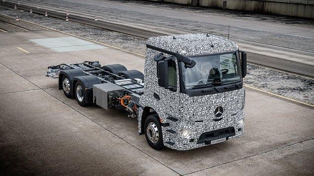 Электро-грузовик Urban eTruck