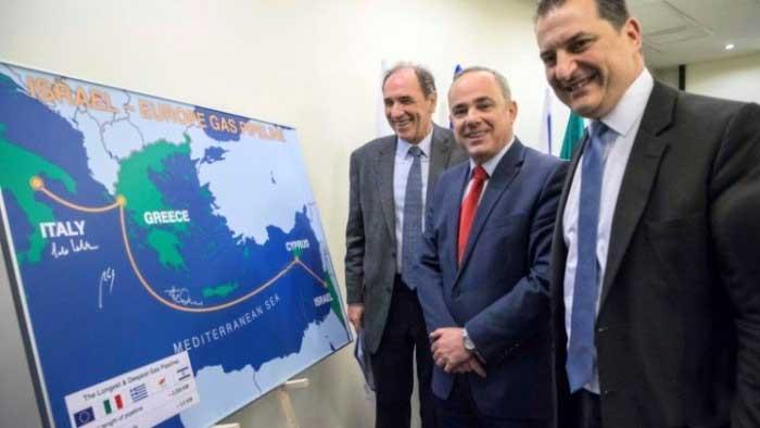 газопровод через средиземноморье