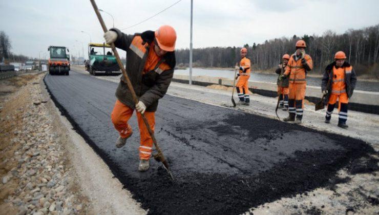 Онлайн мониторинг строительства дорог