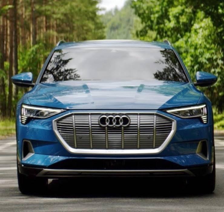 Audi E-Tron Crash test