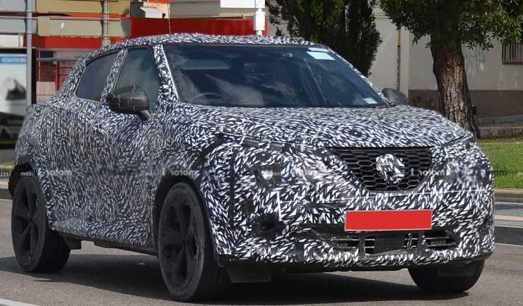 Nissan Juke 2020 испытания